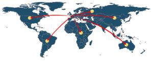 Expedit exporte ses œillets, rivets, coins et autres fixations métalliques dans le monde entier
