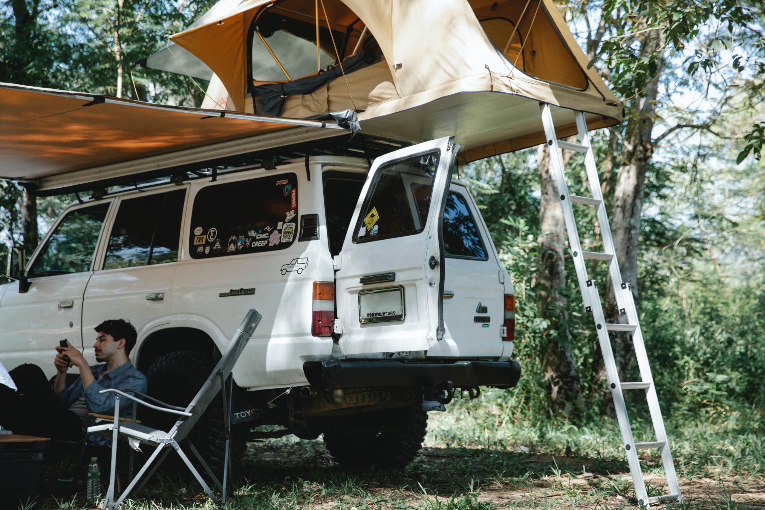 Articles de camping : tendeur à chicane, tendeur cambré